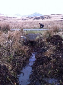 Culvert cleaning loch beg