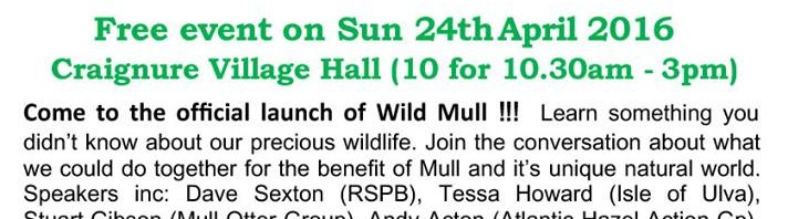 Wild Mull launch event poster