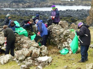 Mull Otter Group Beach Clean