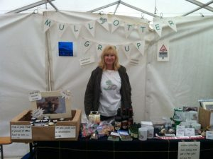 Mull Otter Group Stall at the Salen Show